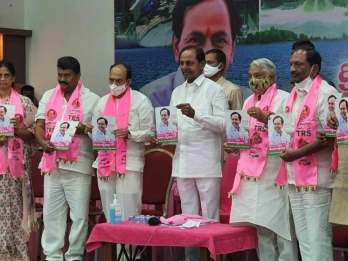 TRS promises free drinking water in Hyderabad