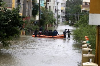 Nivar weakens into low-pressure area over south Andhra