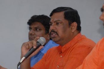 ?Telangana BJP MLA advised by police to use bullet-proof car