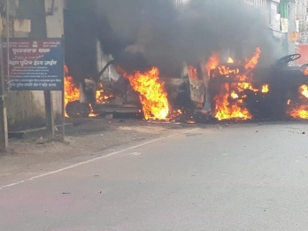 Violence in Munger again, SP office vandalised and police station attacked