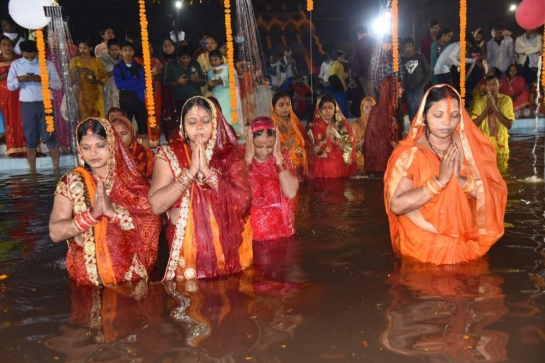 Filming Chatth devotees sparks comm