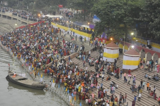 Ganga melas cancelled in UP due to