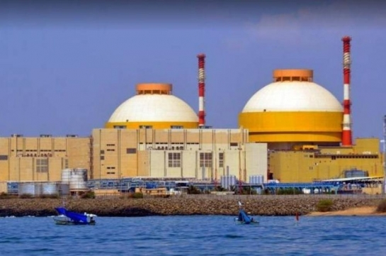 Nuclear power complex in Kalpakkam