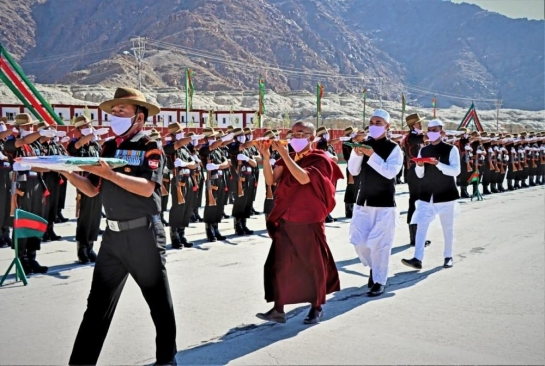 131 youngsters join Ladakh Scouts r