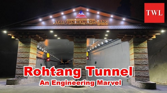 Rohtang Tunnel, An Engineering Marv