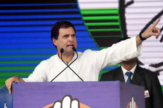Rahul asks workers to provide food,