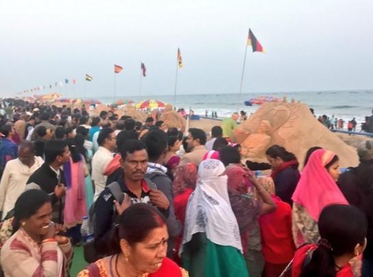 Konark Festival, Sand Art Festival