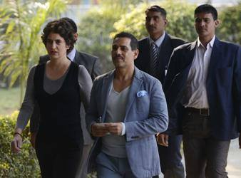 The Weekend Leader - SC judge to probe Vadra land deals; Congress awaits official word